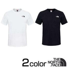 ノースフェイス Tシャツ シンプルドーム 半袖 THE NORTH FACE SIMPLE DOME TNF White ホワイト / Black ブラック / Gray グレー XS S M L XL nf0a2tx5 バレンタイン プレゼント 彼氏