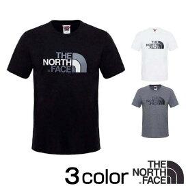 【楽天最安値に挑戦中】ノースフェイス Tシャツ 半袖 イージー Tシャツ EASY TEE TNF Black ブラック 黒 TNF Medium Grey Heather グレー XS S M L XL THE NORTH FACE TNF White nf0a2tx3 バレンタイン プレゼント 彼氏