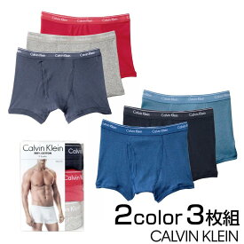 カルバンクライン ボクサーパンツ Calvin Klein CK コットンクラシック 3パック ミックス 3枚組 S/M/L/XL np2188o-979-s