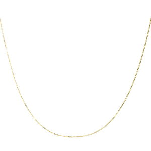 18金 ネックレス チェーン レディース 2面ダイヤカット 喜平チェーン K18 ゴールド 幅 0.65mm/線径 0.18mm/重量(目安) 0.67g/長さ 40cm シアーズ Sears 76041011180