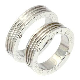 ペアリング 指輪 ペア カップル お揃い シルバー レディース/メンズ ヴォヤージュ ペア リング ララクリスティー LARA Christie PAIR Label r3887-p