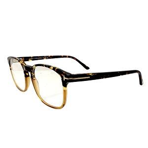 トムフォード メガネ Tom Ford メガネフレーム ブルーライトカットレンズ FT5605-B 056 52 【並行輸入品】