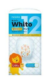 ネピア WhitoパンツLサイズ12時間×44枚×3