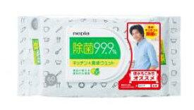 ネピア 激吸収99.9%除菌キッチン&食卓ウエット×36