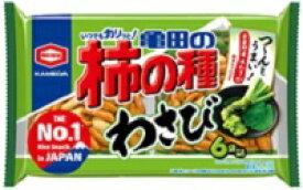亀田 柿の種 わさび6袋詰173g×12