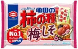 亀田 柿の種 梅しそ6袋詰173g×12