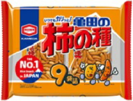 亀田 柿の種 9袋詰252g×12