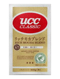 UCC クラシック リッチモカブレンドVP200g ×6