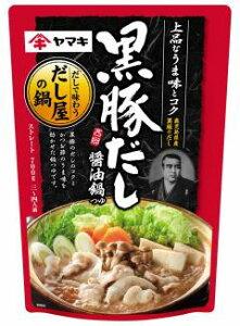 ヤマキ 黒豚だし醤油鍋つゆ 700g ×12