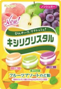 春日井 キシリクリスタル フルーツアソートのど飴×6