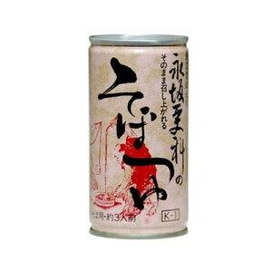 永坂更科 そばつゆ缶 190gK−1×15