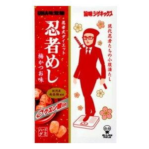 味覚糖 旨味シゲキックス忍者めし梅かつお味 20g ×10
