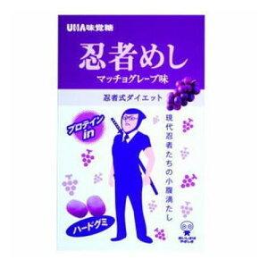 味覚糖 忍者めし 巨峰20g ×10