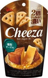 グリコ 生チーズのチーザ 燻製チーズ味40g ×10