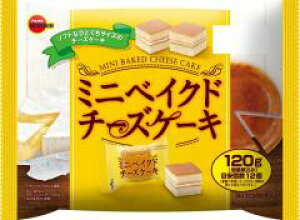 ブルボン ミニベイクドチーズケーキ 120g ×12
