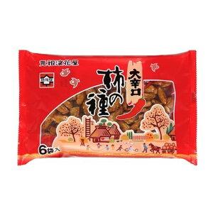 浪花屋 大辛口柿の種6袋パック138g ×12