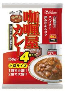 ハウス カリー屋カレー小盛辛口 150g×4袋入×6