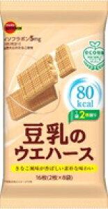 【数量限定 大特価】ブルボン 豆乳のウエハース 16枚 ×6