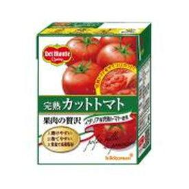 DM 完熟カットトマト 紙388gテトラリカルト×12