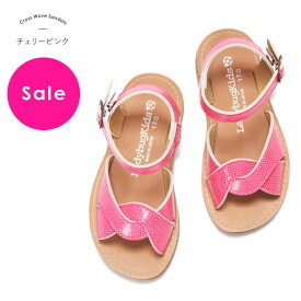 【SALE】セール バーゲン キッズ サンダル 女の子 子供 子供靴 子供 女の子 キッズ こども「★クロス ウェーブ サンダル」日本製で歩きやすく靴ずれの心配がほとんどありません 柔らかクッション!おしゃれ ホワイト 高級 上質