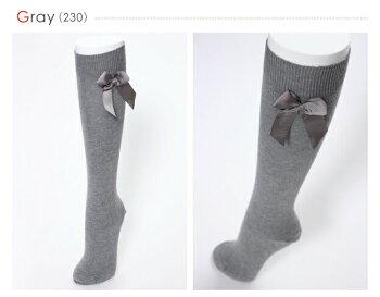 CONDORコンドルリボンハイソックス17cm〜24.5cm【デュポン社が開発したライクラを使用の肌触り抜群の靴下!】【6足までネコポス便可♪】