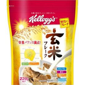 日本ケロッグ 玄米フレーク 袋 220g×6個