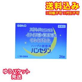 【ゆうパケット送料込み】【第2類医薬品】パンセダン 24錠
