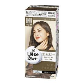【医薬部外品】リーゼ 泡カラー エアリーブラウン 1セット