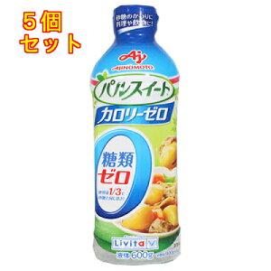 味の素 パルスイート カロリーゼロ 液体タイプ 600g×5個