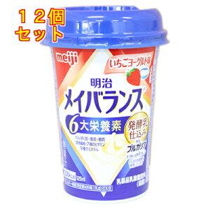 メイバランス Miniカップ いちごヨーグルト味 125ml×12本