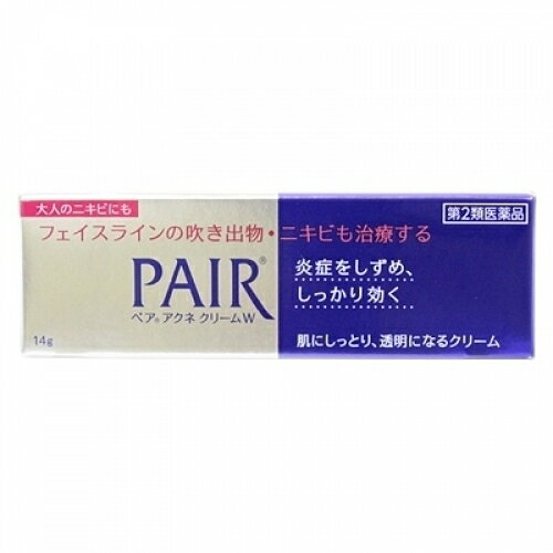 【第2類医薬品】ペアアクネ クリームW  14g【セルフメディケーション税制対象】