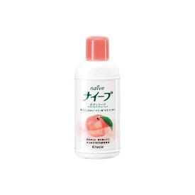 ナイーブ ボディソープ 桃の葉 ミニ 80ml