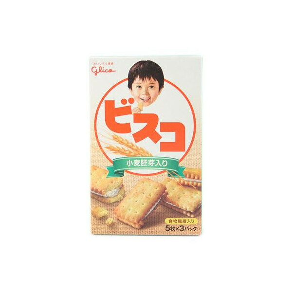 グリコ ビスコ小麦胚芽入り 15枚×10個