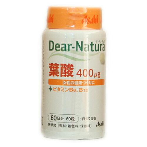 ディアナチュラ 葉酸+ビタミンB6、B12 60粒(60日分)