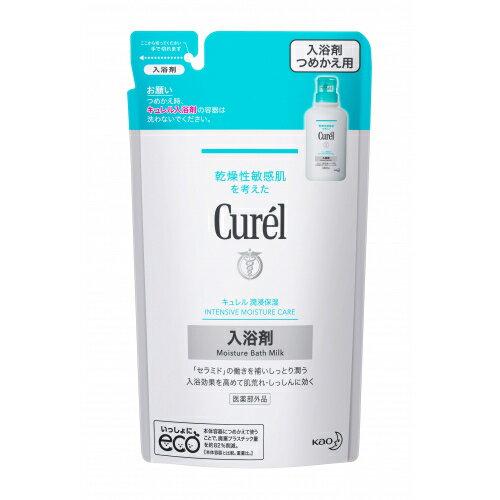 【医薬部外品】キュレル 薬用入浴剤 つめかえ用 360ml