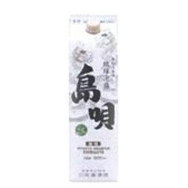 【焼酎】単式25゜島唄 泡盛 パック 1.8L×6個