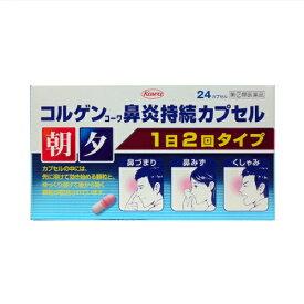【第(2)類医薬品】コルゲンコーワ鼻炎持続カプセル 24カプセル