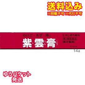 ゆうパケット)【第2類医薬品】クラシエ 紫雲膏 14g