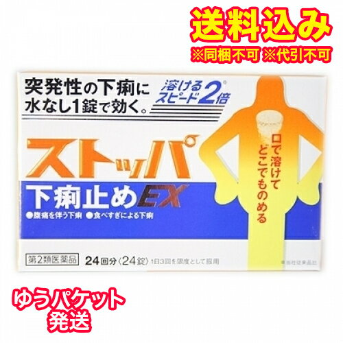 【DM便送料込み】【第2類医薬品】ストッパ下痢止めEX 24錠