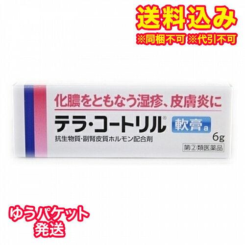 【ゆうパケット送料込み】【第(2)類医薬品】テラコートリル軟膏a 6g