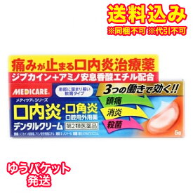 【ゆうパケット送料込み】【第2類医薬品】メディケア デンタルクリーム 5g