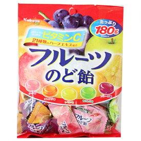 カバヤ フルーツ のど飴 160g×10個