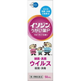 【第3類医薬品】イソジン うがい薬P フルーティな香り 50ml