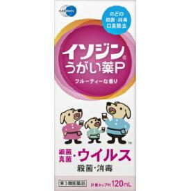 【第3類医薬品】イソジン うがい薬P フルーティな香り 120ml