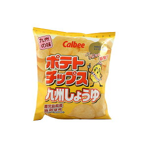 カルビー ポテトチップス 九州しょうゆ 58g×12個