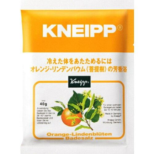 クナイプ バスソルト オレンジ・リンデンバウムの香り 40g