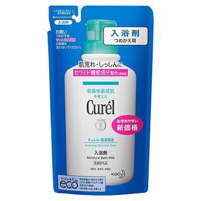 【ポイントボーナス】【医薬部外品】キュレル 薬用入浴剤 つめかえ用 360ml