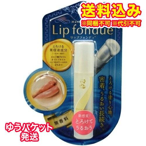 【ゆうパケット送料込み】リップフォンデュ 無香料 4.2g