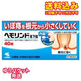 ゆうパケット)【第2類医薬品】ヘモリンド舌下錠 40錠