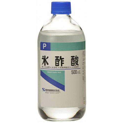 ケンエー 氷酢酸P 500ml
